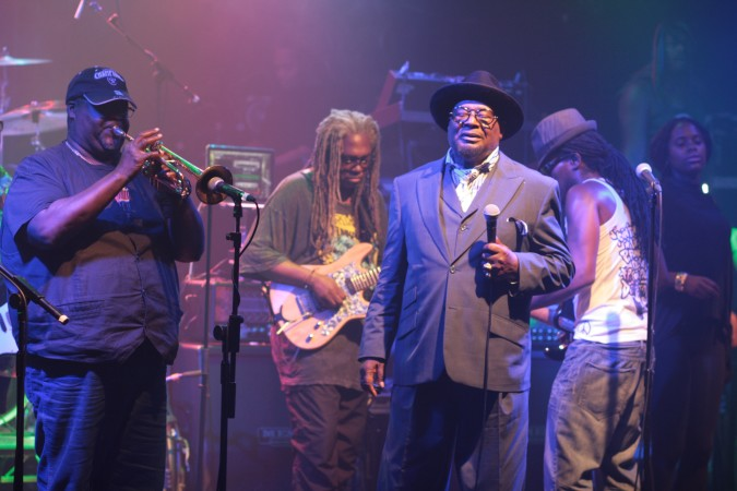George Clinton & Parliament Funkadelic live concert- London 2015