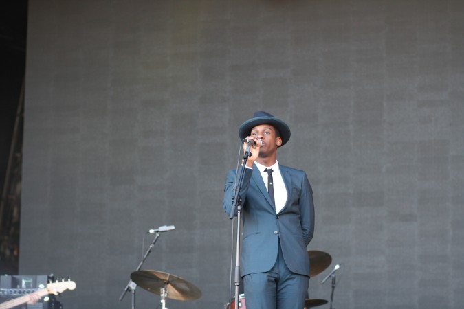Leon Bridges live concert at Citadel Festival 2015