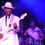 Larry Graham live concert - Byron Bay Bluesfest 2014