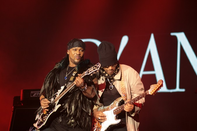 D'Angelo & Jesse Johnson live - Bluesfest 2016