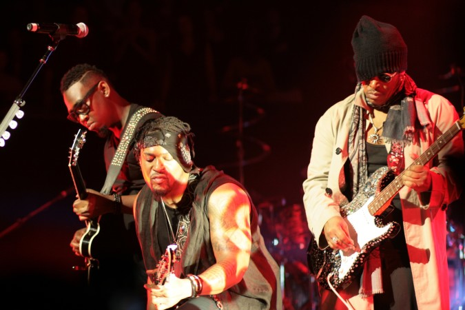 D'Angelo And The Vanguard concert Australia 2016