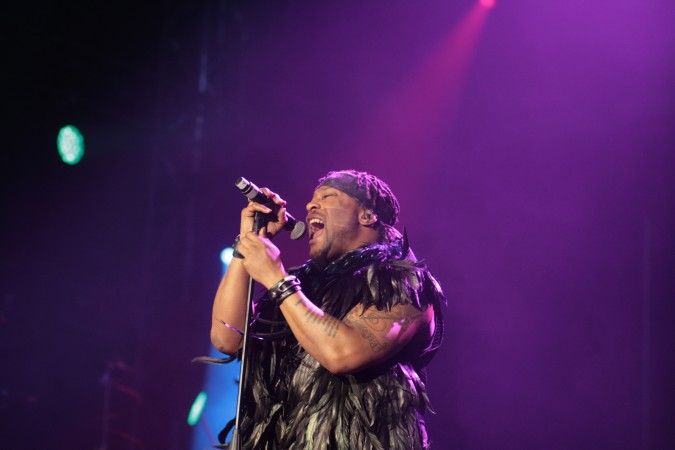D'Angelo concert - Bluesfest 2016, Australia