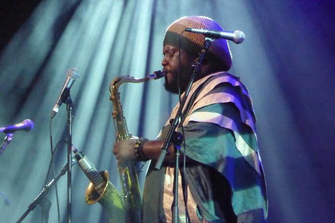 Kamasi Washington live concert - Bluesfest 2016 Australia