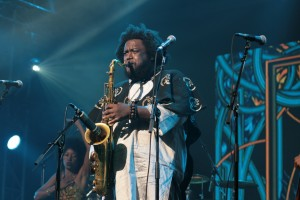 Kamasi Washington live concert 2016