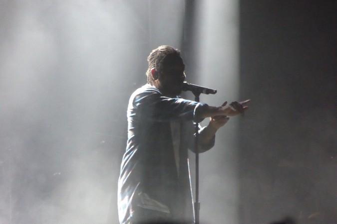 Kendrick Lamar live concert - Bluesfest 2016 - Australia