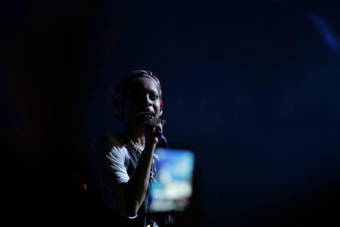 Erykah Badu live concert