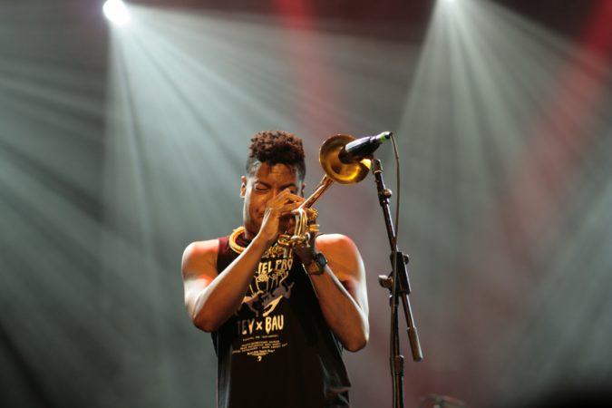 Christian Scott - trumpet