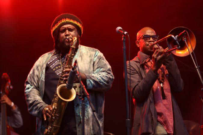 Kamasi Washington live concert - Northside Festival 2017