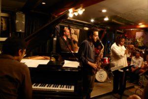 Lesidi Ntsane Quintet live concert - New York City