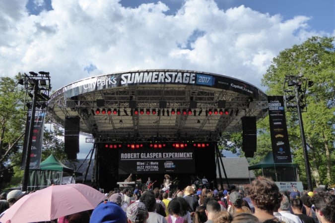 Robert Glasper Experiment - SummerStage 2017