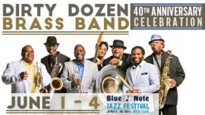 Dirty Dozen Brass Band - Blue Note Festival 2017