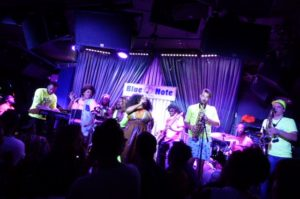 Tank and the Bangas live concert - New York